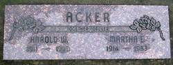 "Harold Weston ""Dytch"" Acker, Sr"
