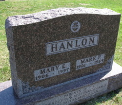 Mary Ellen <I>Andrews</I> Hanlon
