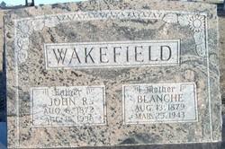 Blanche <I>Cox</I> Wakefield