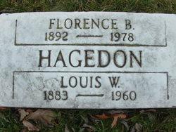 Florence <I>Burt</I> Hagedon