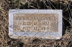 Hily Ann <I>Thaxton</I> Bowmer