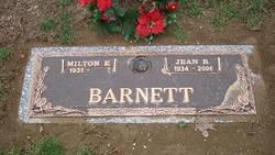 Jean Rose <I>Johnson</I> Barnett