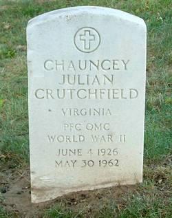Chauncey Julian Crutchfield