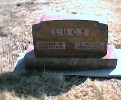 Carrie M. <I>Overholtzer</I> Luce