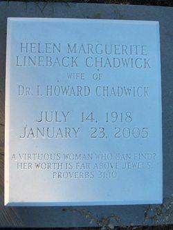 Helen Marguerite <I>Lineback</I> Chadwick