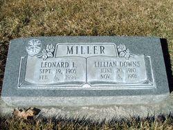 Lillian <I>Downs</I> Miller