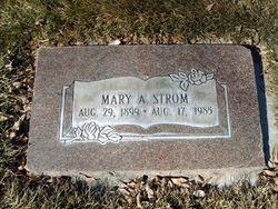 Mary <I>Arbuckle</I> Strom