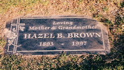 Hazel <I>Bayly Rice</I> Brown