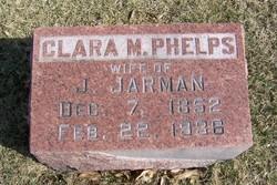 Clara M. <I>Phelps</I> Jarman