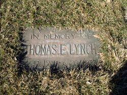 Thomas Edward Lynch