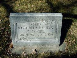 Maria Delia <I>Martinez</I> De La Cruz