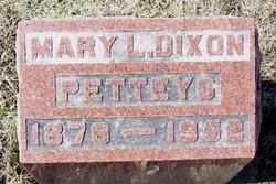 Mary L. <I>Dixon</I> Petteys