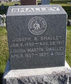 Louisa Ida <I>Martin</I> Smalley Hunter