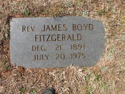 Rev James Boyd Fitzgerald