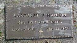 Margaret Eleanor <I>Lovell</I> Hanson