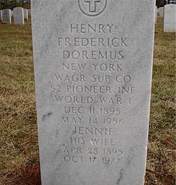 Henry Fredrick Doremus