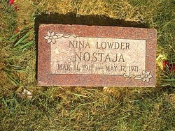 Nina <I>Lowder</I> Nostaja