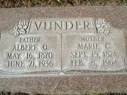 Marie C <I>Hansen</I> Vunder