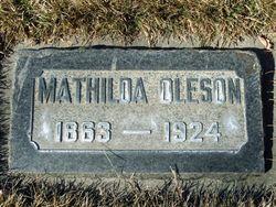 Mathilda <I>Polson</I> Oleson