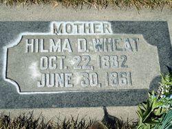 Hilma Delila <I>Malmstrom</I> Wheat