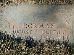 Ellen Josephine <I>Benson</I> Eckman