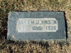 Anna Maria <I>Erickson</I> Johnson