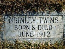 Infant twins Brinley