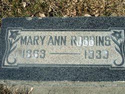 Mary Ann <I>Robinson</I> Robbins