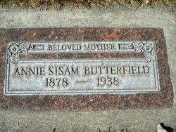 Anna Katherine <I>Sisam</I> Butterfield
