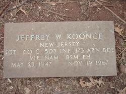 Sgt Jeffrey W Koonce