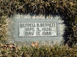 Wendell B Bennett