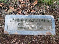 Harden McCallister
