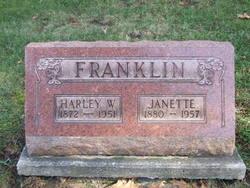 Janette <I>Mckinley</I> Franklin