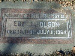 Eby Amera <I>Larson</I> Olson