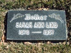 Sarah Ann <I>Nilson</I> Lind