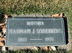 Hannah <I>Johnson</I> Soderberg