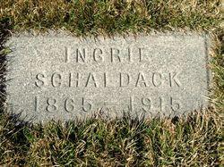 Ingrie <I>Jenson</I> Schaldack