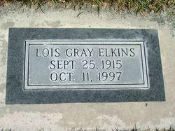 Lois Alva <I>Gray</I> Elkins