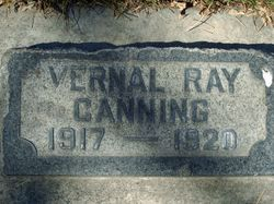 Vernal Ray Canning