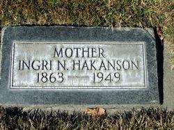 Ingri <I>Nilson</I> Hakanson