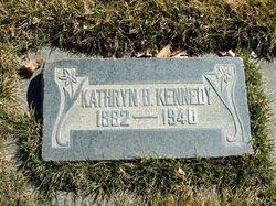 Kathryn <I>Bennett</I> Kennedy