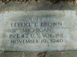 Elbert Thomas Brown