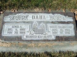 Violet <I>Rasmussen</I> Dahl