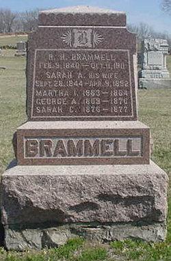 Sarah Ann <I>Hollar</I> Brammell