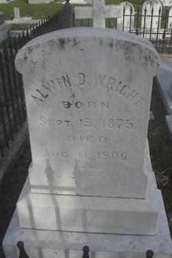 Alwin D Wright
