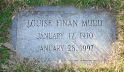 Louise <I>Finan</I> Mudd