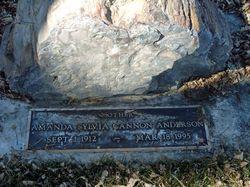 Amanda Sylvia <I>Cannon</I> Anderson