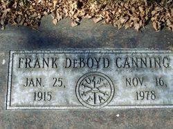 Frank De Boyd Canning