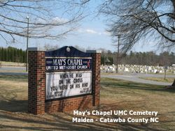 Mays Chapel United Methodist Church Cemetery