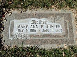 Mary Ann <I>Powell</I> Hunter